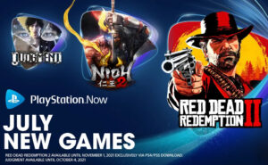 Free PlayStation Now games for July 2021