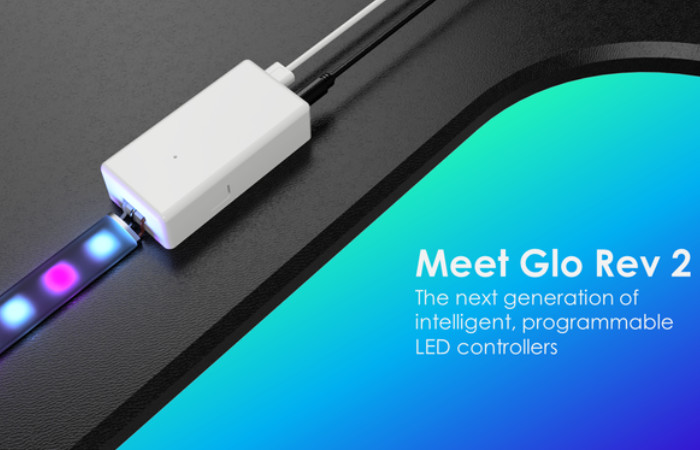 Glo Rev 2 smart Arduino LED controller