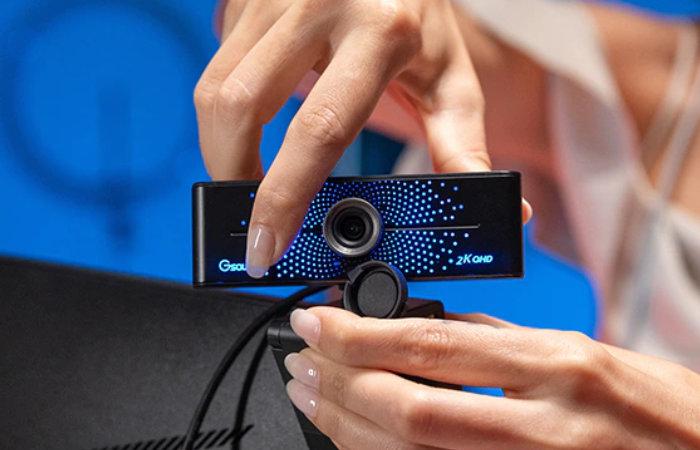Gsou K20 2K HD Bluetooth web camera