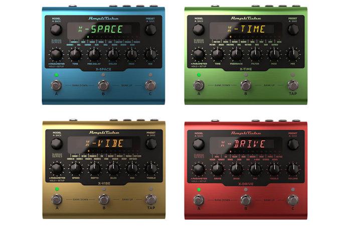 IK Multimedia AmpliTube based guitar pedals