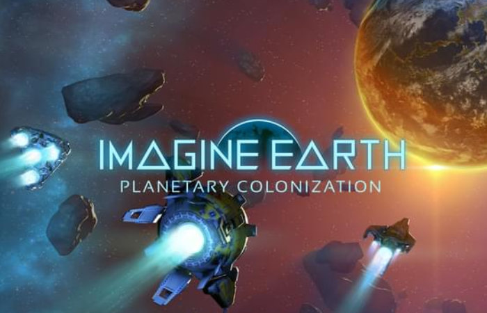 Imagine Earth space city builder and strategy game