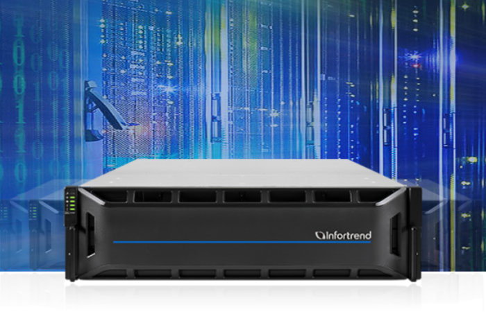 Infortrend EonStor CS U.2 NVMe Scale-out NAS solution