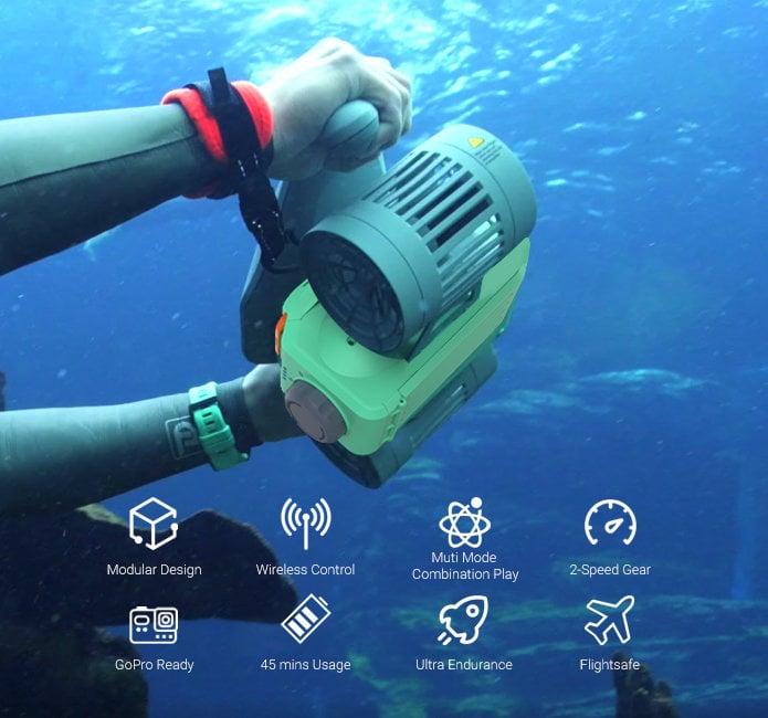 LEFEET C1 underwater water scooter