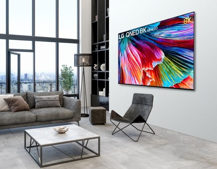 LG QNED Mini LED Smart TVs