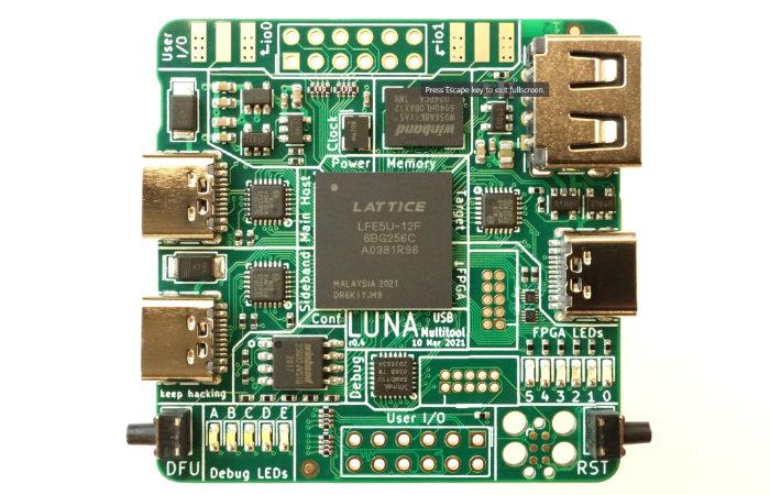 LUNA USB Hacking