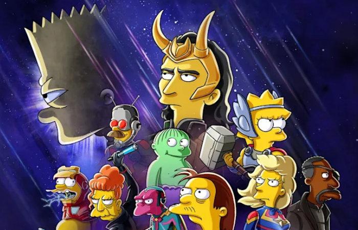 Loki meets the Simpsons