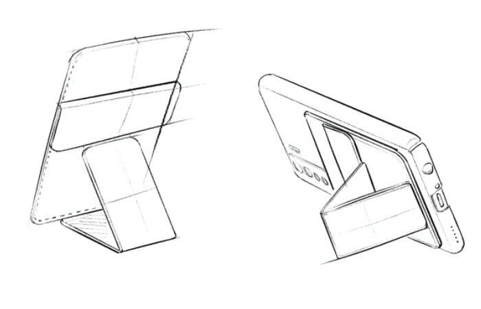MOFO folding phone stand