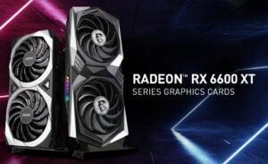 MSI Radeon RX 6600 XT Series graphics cards