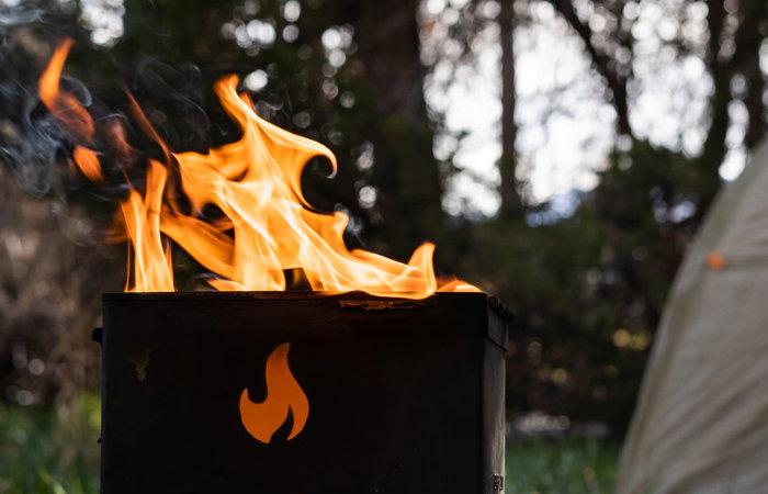 Magic Fire Box campfire grill