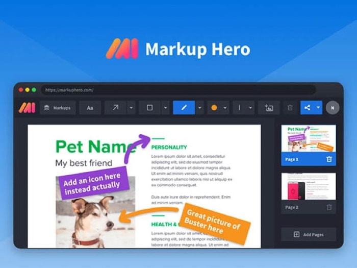 Markup Hero Screenshot