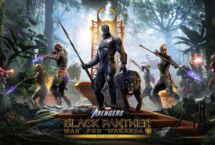 Marvels Avengers Black Panther expansion