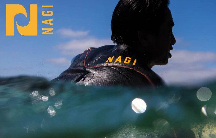 NAGI premium wetsuit made and designed in Japan