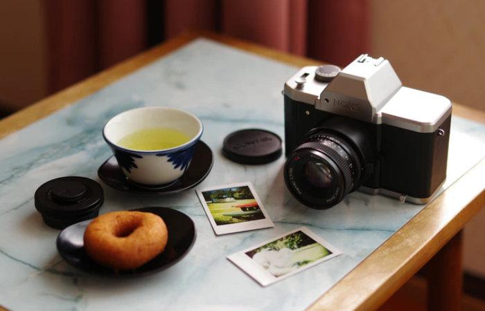 NONS SL42 Black SLR instant camera