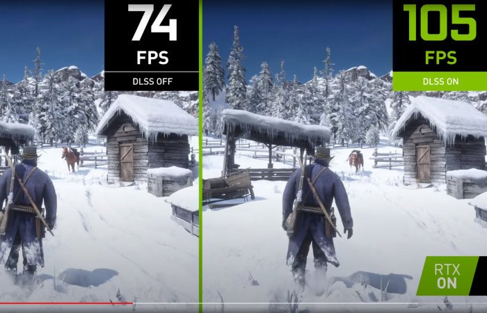 NVIDIA DLSS Red Dead Redemption 2