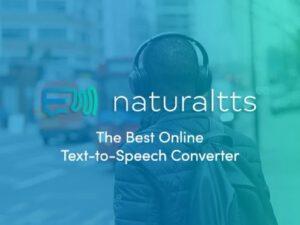 Naturaltts Online Text to Speech Converter Lifetime Subscription