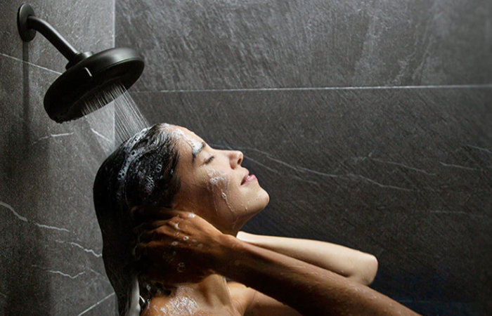 Nebia shower head by Moen Quattro