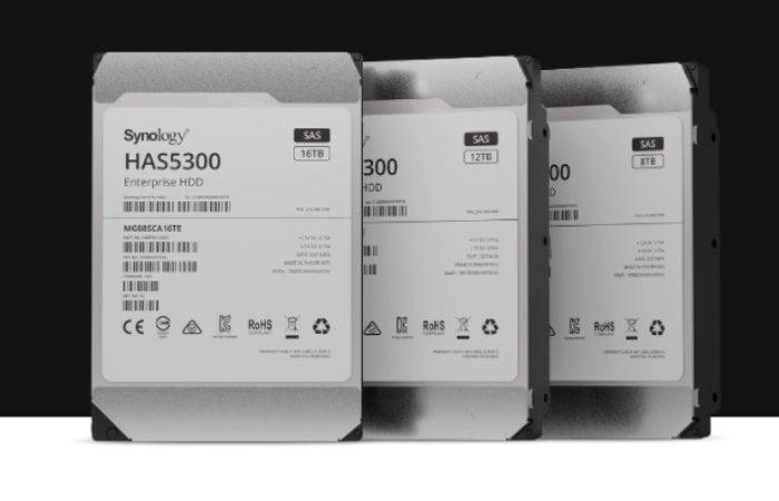 Synology HAS5300 hard drives