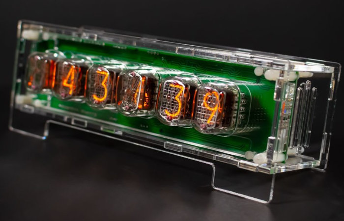 Nixie tube clock shield for Arduino