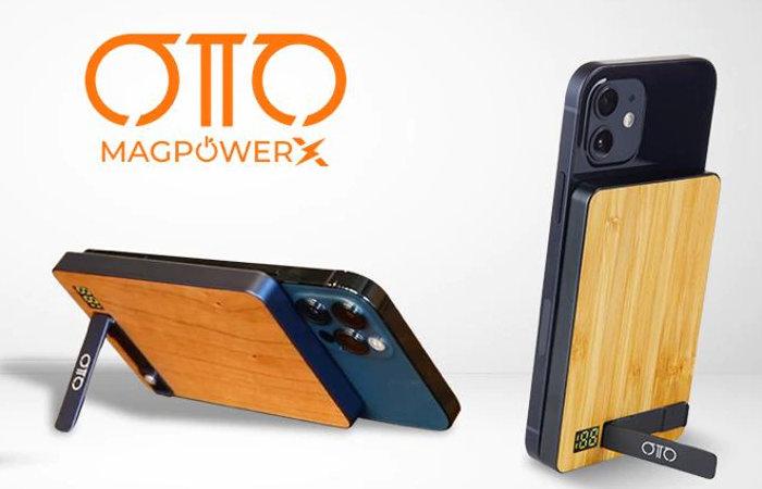 OTTO MagPowerX wireless charging power bank
