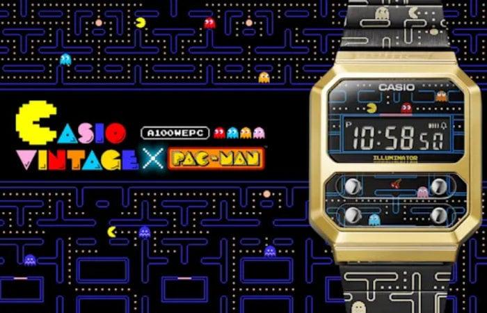 Pac-Man A100 digital watch