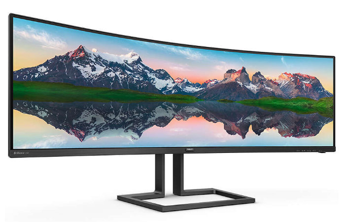 Philips 165 Hz 498P9Z curved monitor