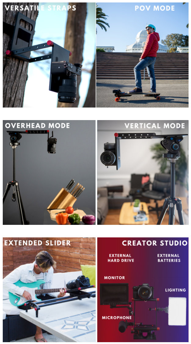 PlateZ camera tripod stand,