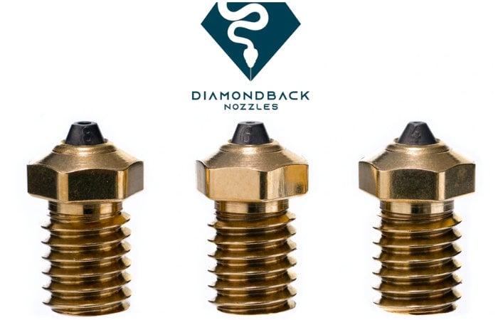 Diamond Back 3D printing nozzle