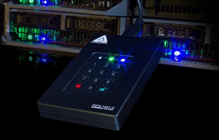 Apricorn Aegis Fortress L3 20TB external SSD