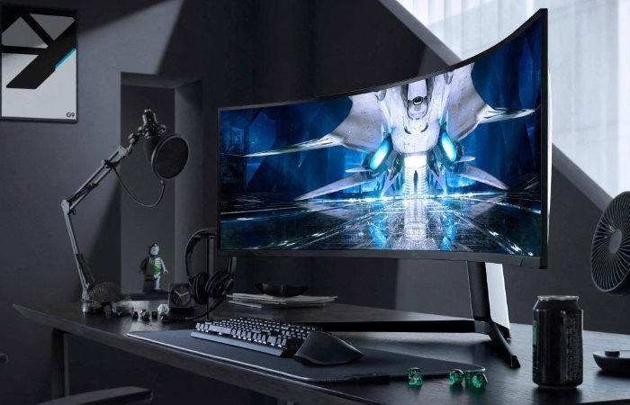 Samsung Odyssey Neo G9 curved gaming monitor