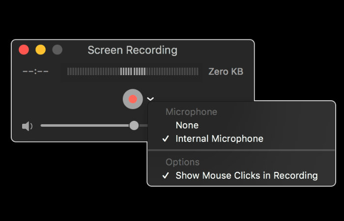 Screen recording on your Mac using QuickTime Player