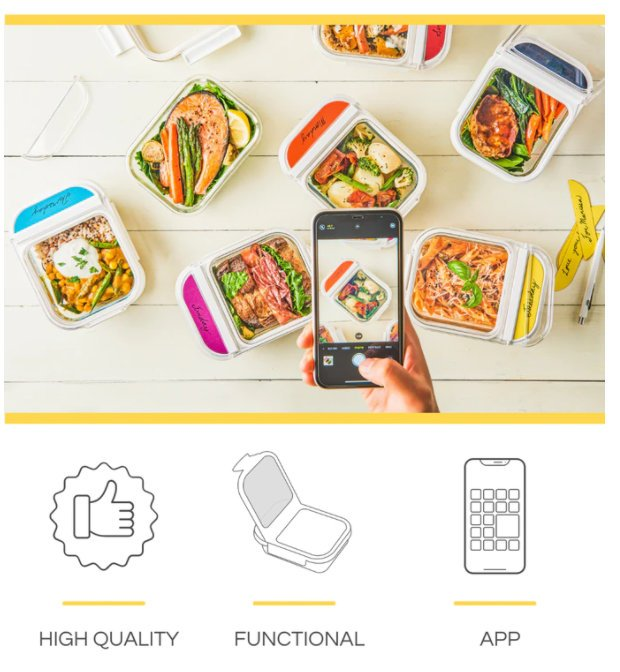 Sulagan smart lunch box and food storage system