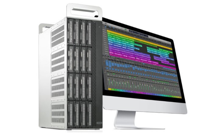 TerraMaster D16 Thunderbolt 3 compact 16-bay storage tower
