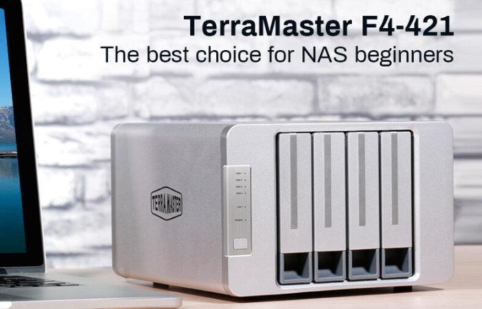 TerraMaster F4-421 Professional Quad Core NAS