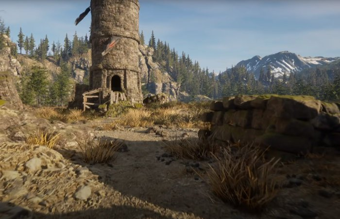 Unreal Engine 5 Skyrim demo