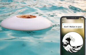 Wave motion pool monitor