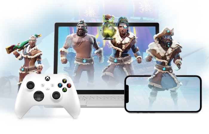 Xbox Cloud gaming on iPhone demonstrated