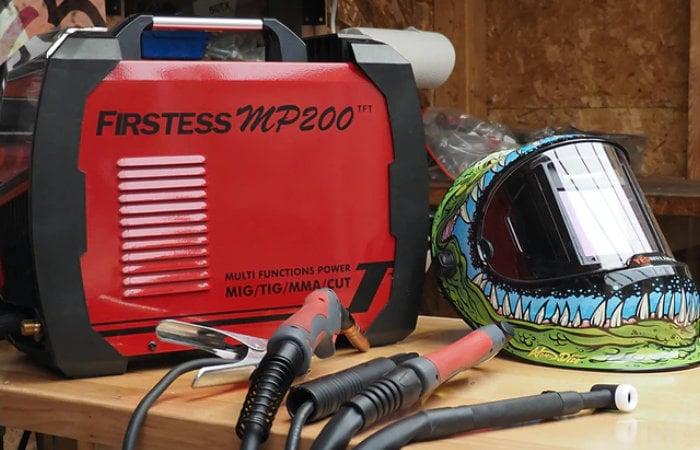 YesWelder FIRSTESS MP200 welder and cutter