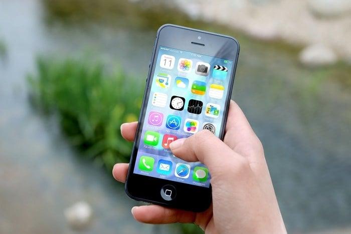 Delete apps iPhone