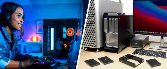 OWC external storage system
