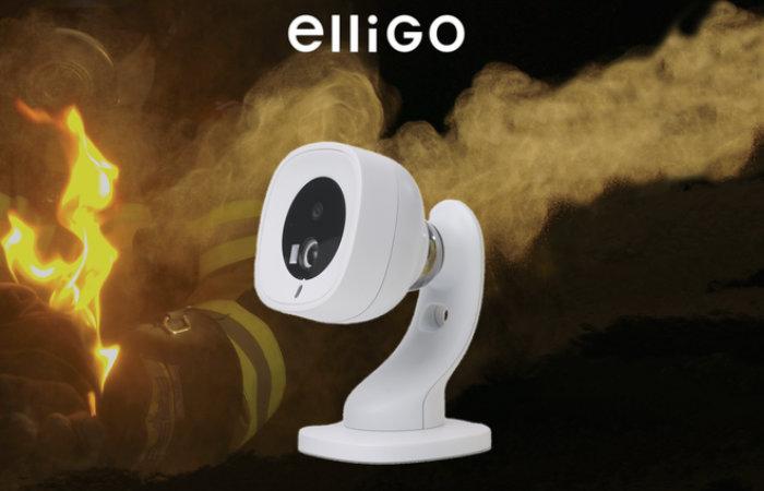 elliGO flame and smoke alarm