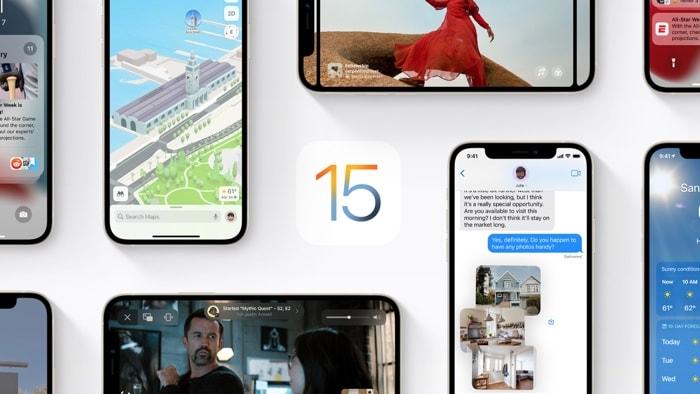 iOS 15 and iPadOS Public Beta 1
