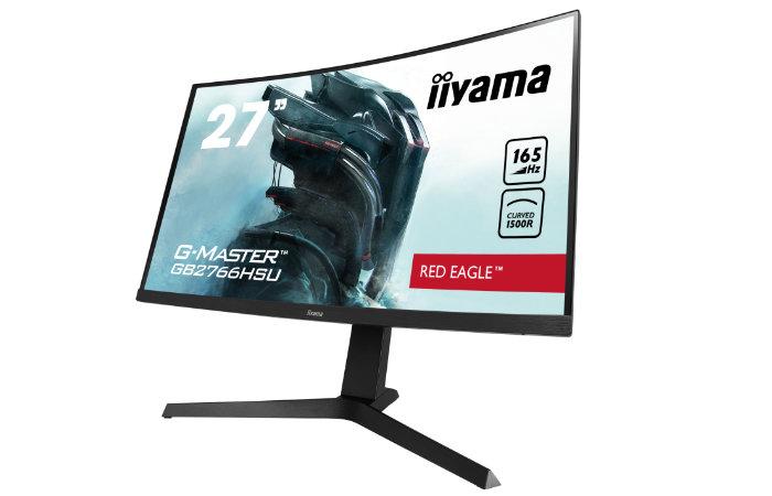 iiyama GB2766HSU-B1 G-Master 165Hz curved gaming monitor