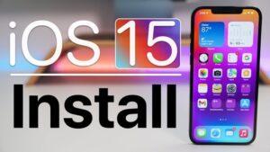 How to install iOS 15 Public Beta