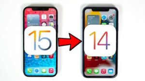 downgrade from iOS 15 to iOS 14