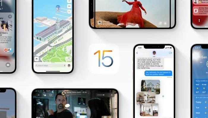 ios 15 public beta 3