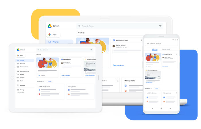 new Google Drive app