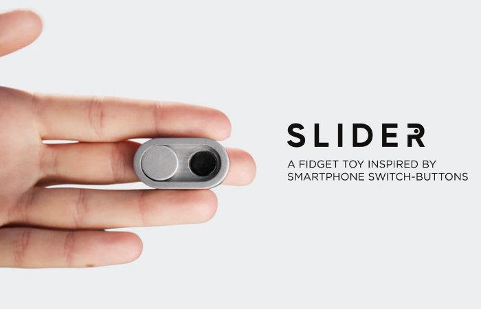 slider fidget button