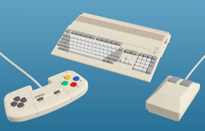 A500 Mini Amiga mini games console