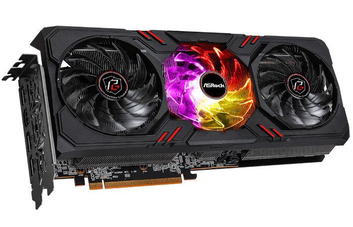 ASRock Radeon RX 6600 XT Phantom Gaming graphics card