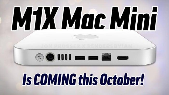 Apple M1X Mac Mini